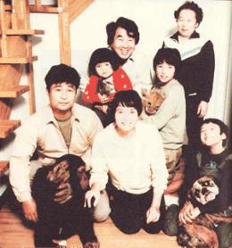 1982年頃の動物大家族