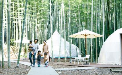 グランピング The Bamboo Forest