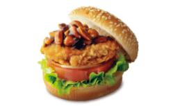味噌ピーチキンバーガー